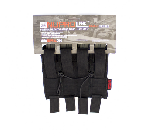 Nuprol M4 Double Open Mag Pouch Black