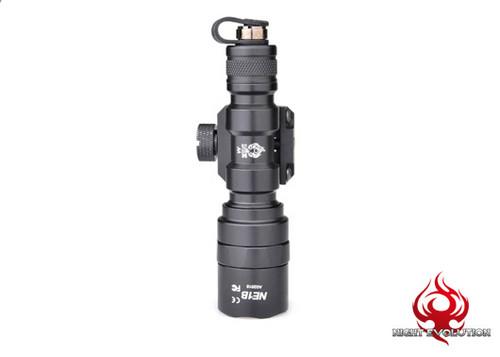 Night Evolution M300AA Mini Scout Light - Black