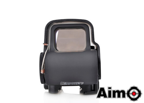 Aim-O XPS 3-2 Red/Green Dot & QD Mount - Black