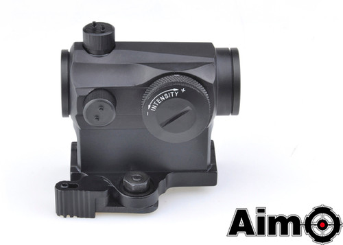 Aim-O T1 Red/Green Dot With QD Mount - Black