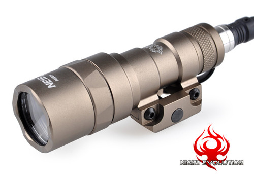 Night Evolution M300B Mini Scout Light - Dark Earth