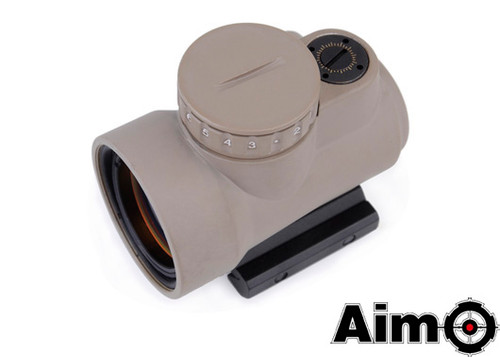 Aim-O MRO Red Dot Sight 2.0 MOA - Dark Earth