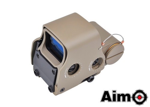 Aim-O XPS 3-2 Red/Green Dot & QD Mount - Dark Earth