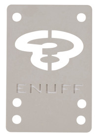 Enuff Shock Pads-White-Rollback Skating
