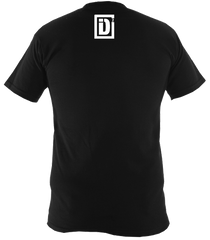 id2 identity t shirt rear detailing