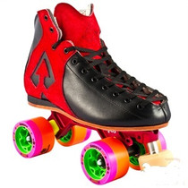 Antik roller derby quad skates Black/Red