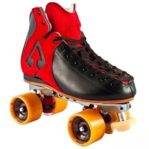 Antik derby quad roller skates Black/Red