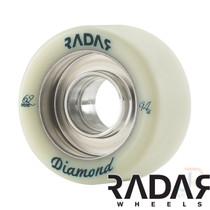 RADAR WHEELS (4) - DIAMOND - NATURAL - 62mm/94a