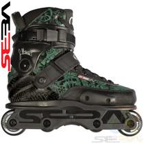 Seba '15 CJ PRO Aggressive In-Line Skates - Green