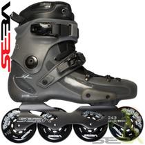 Seba '14 FR 1 80 In-Line Skates - Grey