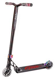 Grit Scooters Tremor Complete Scooter - Black / Laser Red