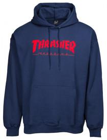 Thrasher Hoodie Magazine Logo Felt Stitched