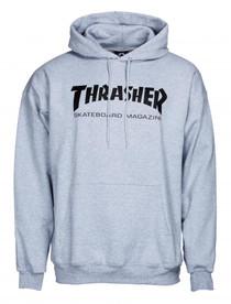 Thrasher Logo Hoodie - Grey