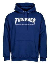 Thrasher Logo Hoodie - Blue