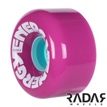 RADAR - ENERGY NEON SKATE WHEELS-PINK