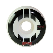 CHICKS IN BOWLS STREET SKATE WHEELS- WHITE/BLACK