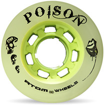 Atom Quad Derby Poison Slim Wheels - Natural Green