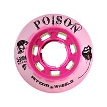 Atom Quad Derby Poison Slim Wheels - Pink