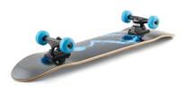 Enuff Pyro II Complete Skateboard -Blue-Rollback Skating
