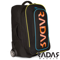 RADAR WHEELS ROLLING GEAR BAG - BLACK