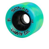 SONAR WHEELS-SWIRLZ - GREEN/BLUE