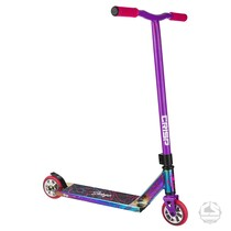 Crisp Surge Complete Scooter -Chrome / Pink