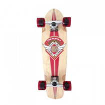 Mindless-Campus-II-V-Tail-Short-Board-Red