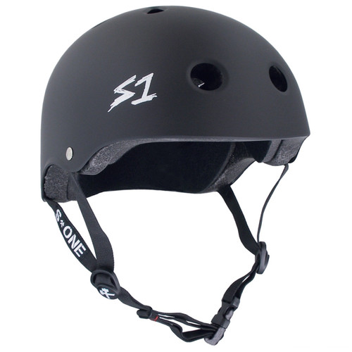 S1 MEGA Lifer Helmets- Black Matt