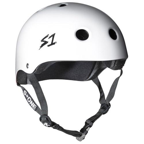 S1 MEGA Lifer Helmets - White Gloss