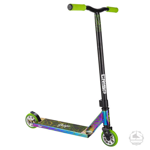 Crisp Surge Complete Scooter -Chrome / Green
