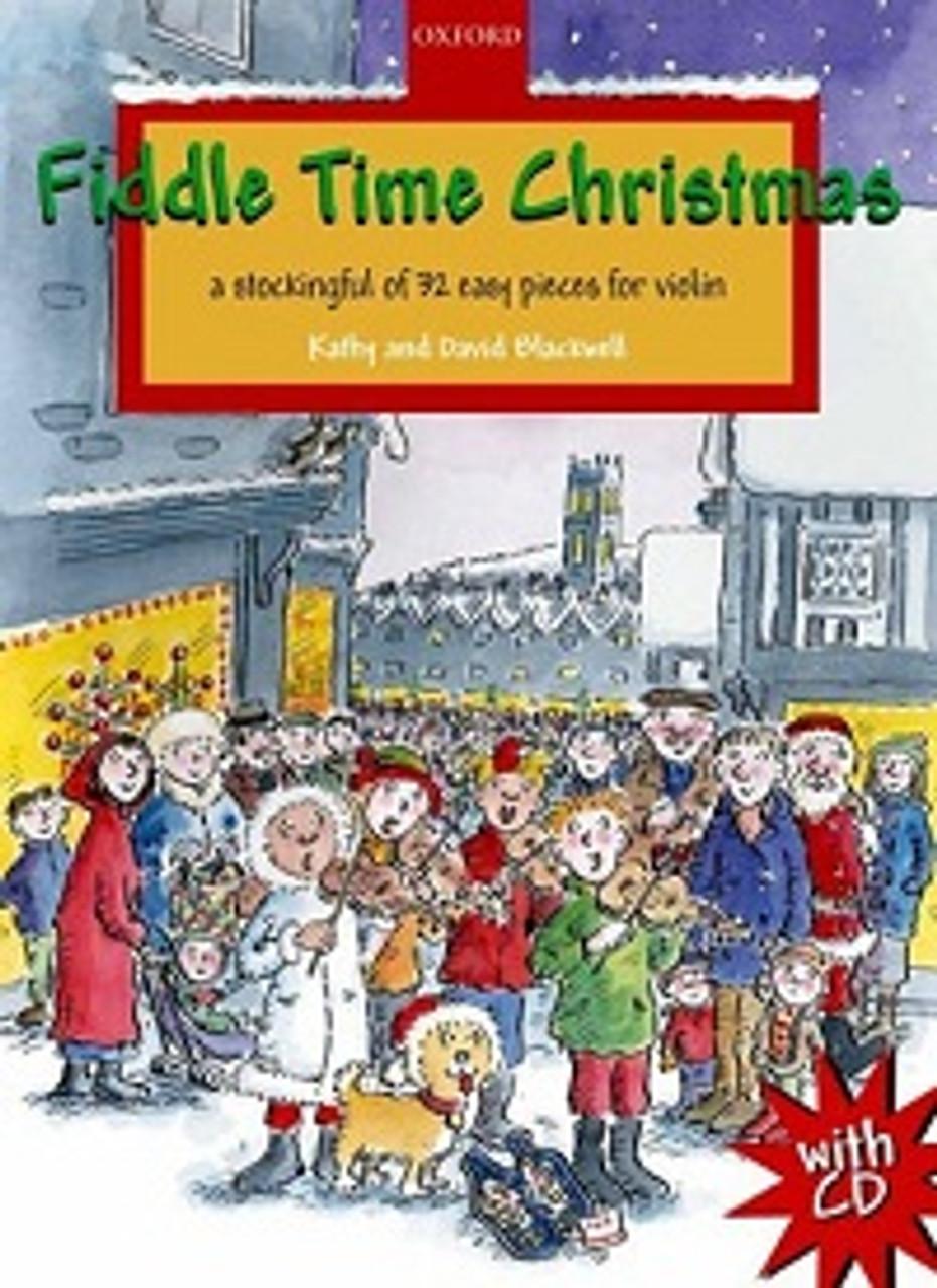Christmas Violin.Fiddle Time Christmas Cd