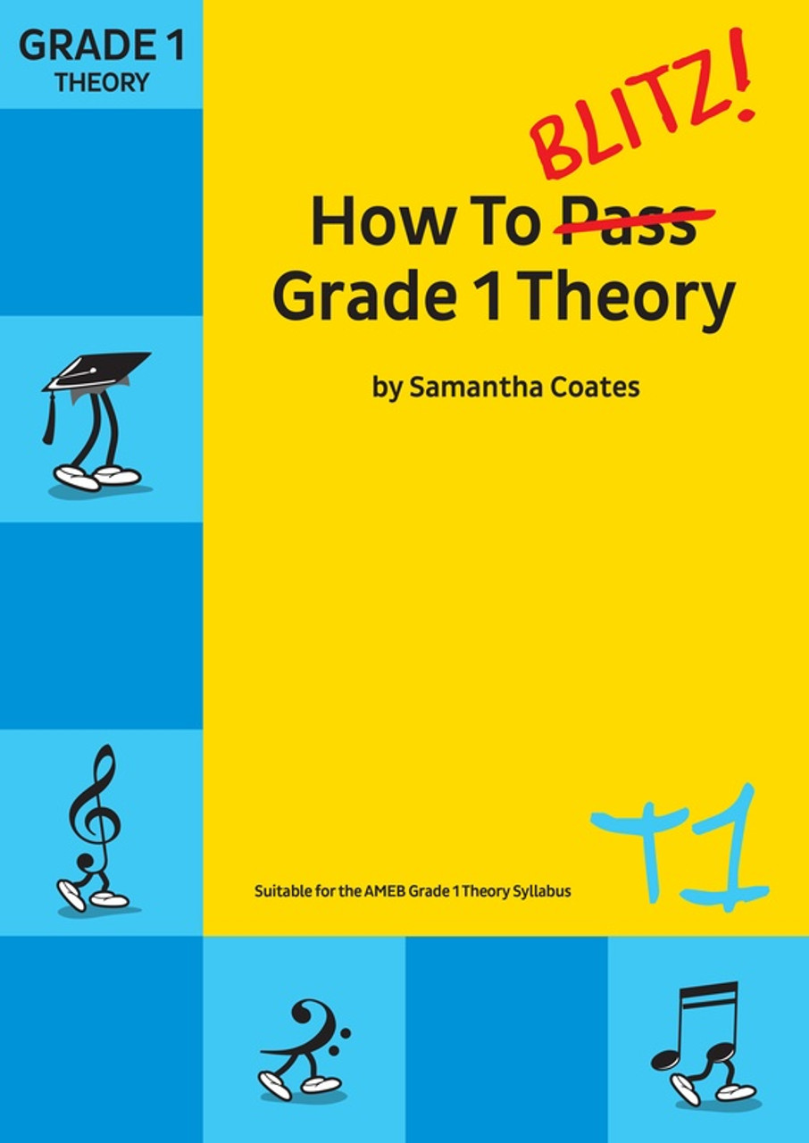 How To Blitz Beginner Theory Music Book by Samantha Coates Perfect Preparation