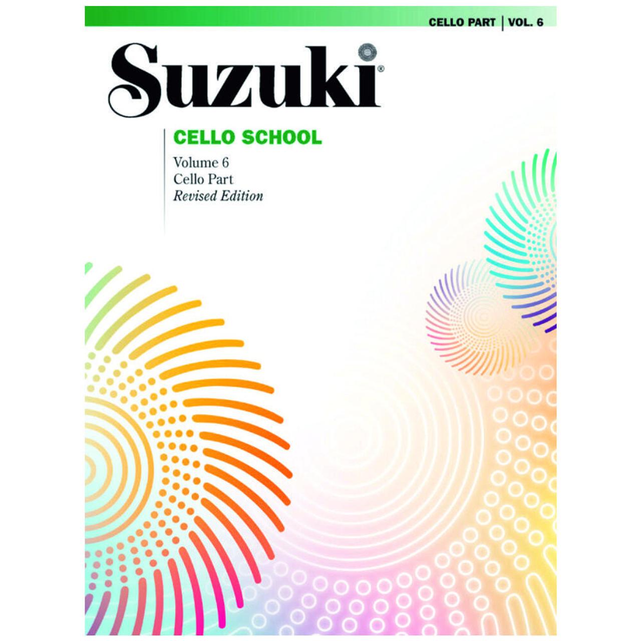 Suzuki Cello School Cello Part Volume 6 Revised