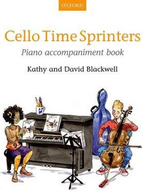 Cello Time Sprinters Piano Accompaniment Book