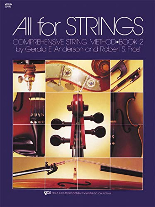 All For Strings Book 2 for Violin