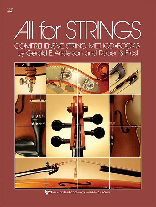 All For Strings Book 3 for Viola