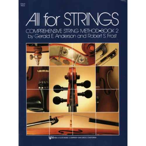 All For Strings Book 2 for Cello