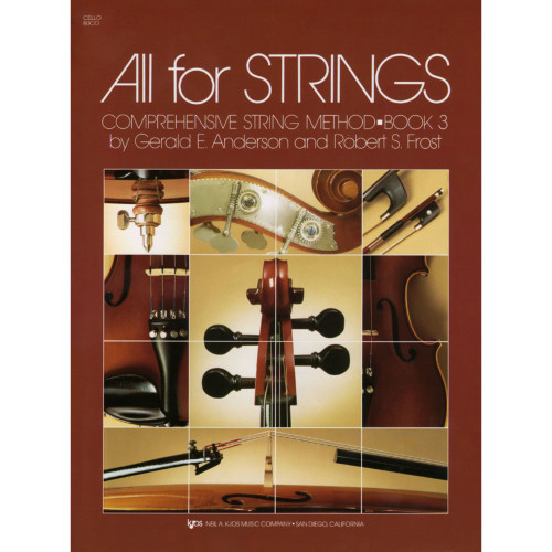 All For Strings Book 3 for Cello