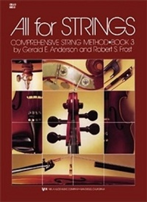 All For Strings Book 3 for Double Bass