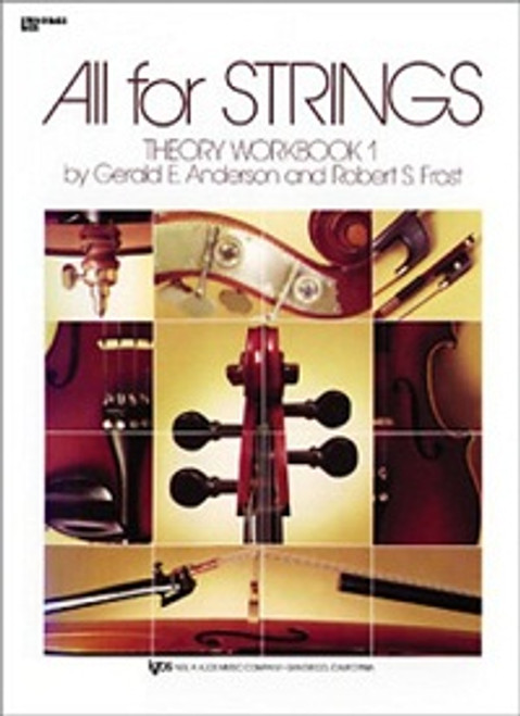 All For Strings Theory Workbook 1 for Double Bass
