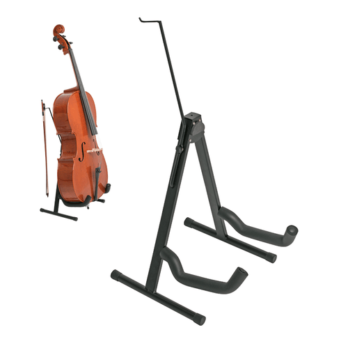 Xtreme Cello Stand UPDATED with Bow Holder