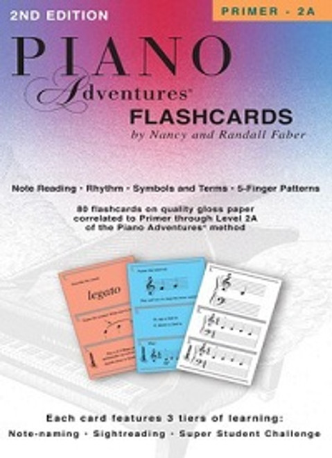 Piano Adventures Flashcards In-a-Box