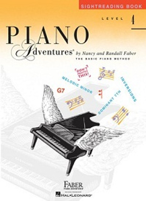 Piano Adventures Level 4 - Sightreading