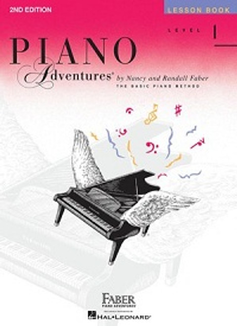 Piano Adventures Level 1 - Lesson Book Only