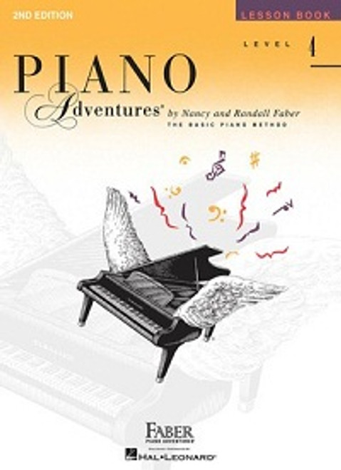Piano Adventures Level 4 - Lesson Book Only