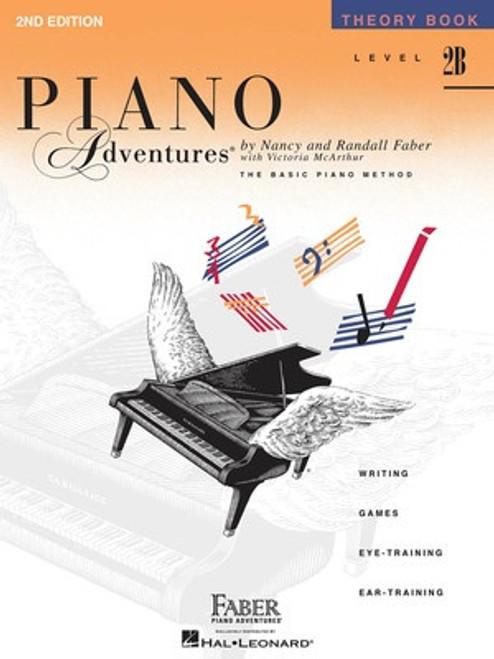 Piano Adventures Level 2B - Theory Book Only