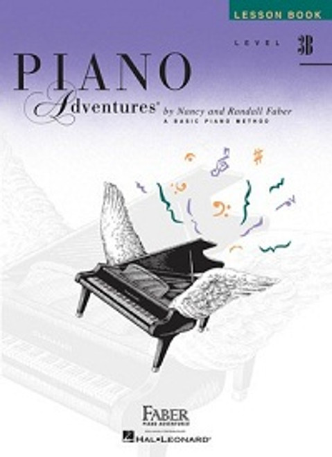 Piano Adventures Level 3B - Lesson Book Only