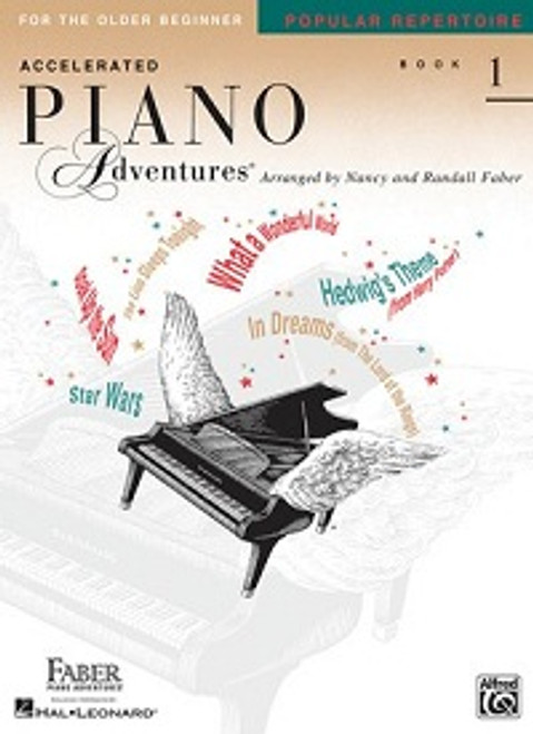 Accelerated Piano Adventures for the Older Beginner Level 1 - Popular Repertoire Book Only