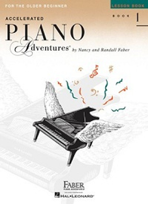 Accelerated Piano Adventures for the Older Beginner Level 1 - Lesson Book Only