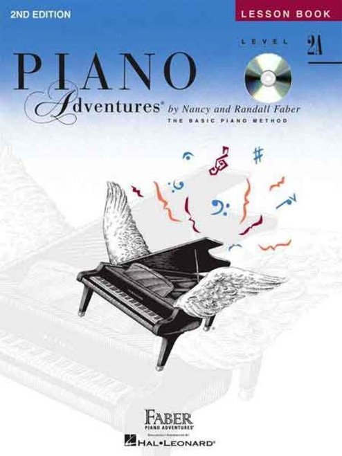 Piano Adventures Level 2A - Lesson Book with CD